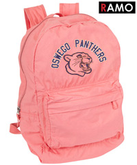 RAMO BackPacks- Lightweight and Soft, Coral colour