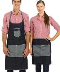 Denim Aprons with Logo Service