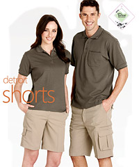 Biz Collection-Detroit Flexiband Shorts for Uniform Packages