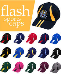 Biz Collection: Flash Cap in Club Colours