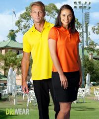 Yellow and Black Polo Shirts