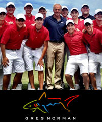 Greg Norman Polo Shirts in Corporate Colours