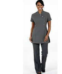 Grey Tunics for Health, Beauty and Pharmacy