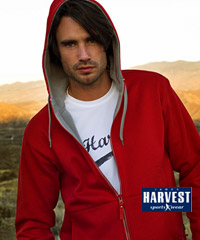 Harvest International Sportswear: Upmarket 360 Gram 'Doubleface' Hoodies