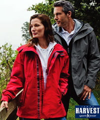 Harvest Sportswear: Vent-Air Breathable & Waterproof Jackets