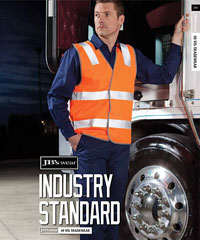 Transport Industry: Hi Vis Safety Vests with Reflective Tape