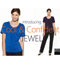 Jewel Round Neck Blouse - 8 colours