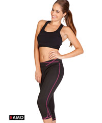 Ladies 3/4 Tights for Yoga and Gym