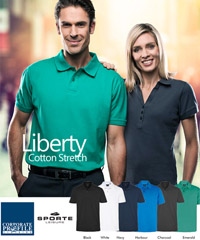 Sporte Leisure: Stretch Cotton Polo Shirt