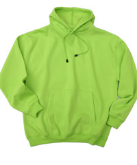 Lime Colour Hoodies With Logo Service