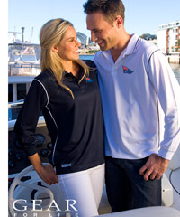 Gear for Life-Luxury Long Sleeve Polo Shirts-Breathable-Soft Fabric