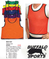 Training Vest for Clubs and Schools