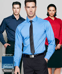 AP Business Shirts, Mosman #1903L with Logo Service. Available in 8 Colours, great quality for Modern Business