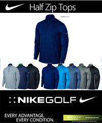 Nike Half Zip Top #686085 with Company Logo Service