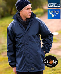 Rainbird Stowaway Waterproof Jackets.