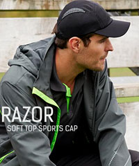 Biz Collection: Razor Soft Top Sports Cap