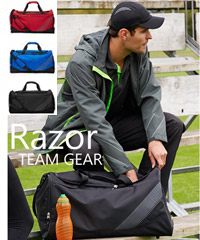 60cm Razor Sports Bags from the Razor Teamwear Collection