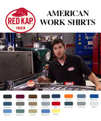 RED KAP American Work Shirts in Australia-21 Colours