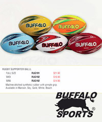 Buffalo Rugby Ball #RUG191 for Clubs and Schools