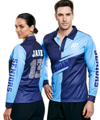 Sublimated Sportswear- Polo Shirts, Singlets and Shorts with Professional Graphic Service
