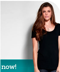 Fashion Tee Scoop Neck