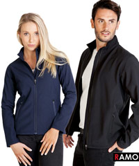 Ramo Soft Shell Jackets with Logo Service