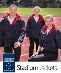 Our Top Pick and Best Seller: Winning Spirit Stadium Jackets with Water Repellant Oxford Shell and Warm Fleece Lining