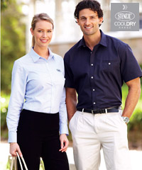 Smart & Dressy Short Sleeve Shirts for your logo