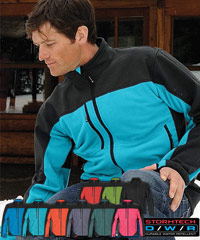 Stormtech Hybrid Fleece Soft Shell Jacket-with optimal cold weather protection-9 Colours