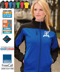 Stormtech Edge Soft Shell Jacket-with waterproof and breathable performance technology-7 Colours