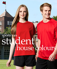 Student T-Shirts in House Colours