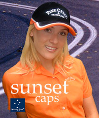Sunset Tri-Colour Cap