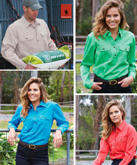 Country Shirts by Thomas Cook Boot & Clothing Co. Approved to UPF Standards to protect you from UVR