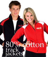 80% Cotton Track Jackets