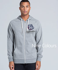 Traction Zip Marle Hoodies #5107-Nine Colours including Brown, Steel and Purple