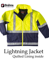 Brahma Transport and Fork Lift Driver Jacket-Waterproof