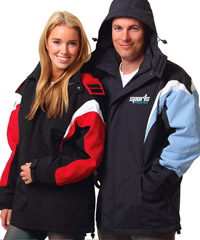 Tri Colour Waterproof Jackets with Good Quality Micro Fleece Lining