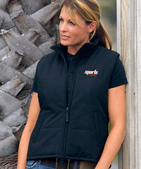 Intensity Vest with Polyfill Warmth