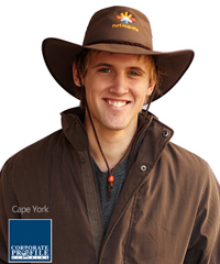 Australian Styled Wide Brim Workwear Hat for Outdoor Staff