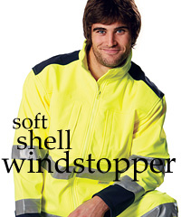 Australian Industrial Wear-Hi Vis Soft Shell Jacket