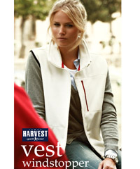 Upmarket Womens Fleece Vest with Wind Stopping Membrane