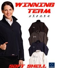 Winning Soft-Shell Jackets. Suggested for Company requirements.