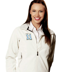 White Soft-Shell Jackets for Women
