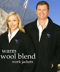Wool Blend Work Jackets