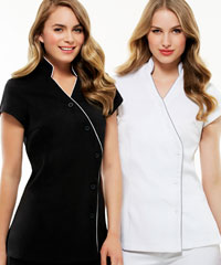 Beauty Tunics with Teflon Stain Release