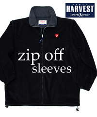 Zip Off Sleeve Jacket