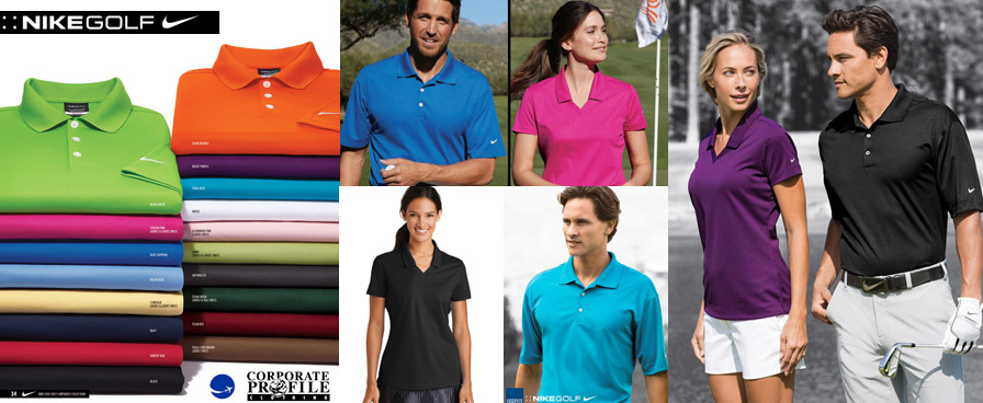 Nike Golf Corporate Polo with Logo Service for Company and Clubs